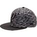 Front view of New Era San Antonio Spurs NBA Terry Fresh Snapback Hat in Black
