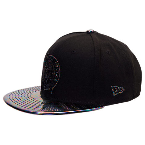 New Era Boston Celtics NBA Trick Slick Snapback Hat