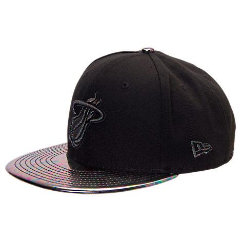 New Era Miami Heat NBA Trick Slick Snapback Hat