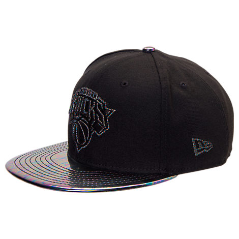 New Era New York Knicks NBA Trick Slick Snapback Hat