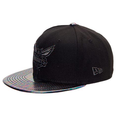 New Era Charlotte Hornets NBA Trick Slick Snapback Hat