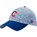 Front view of New Era Chicago Cubs MLB Terry Fresh 9FIFTY Adjustable Snapback Hat in Team Colors