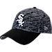 Front view of New Era Chicago White Sox MLB Terry Fresh 9FIFTY Adjustable Snapback Hat in Team Colors
