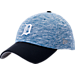 Front view of New Era Detroit Tigers MLB Terry Fresh 9FIFTY Adjustable Snapback Hat in Team Colors