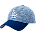 Front view of New Era Los Angeles Dodgers MLB Terry Fresh 9FIFTY Adjustable Snapback Hat in Team Colors