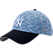 Front view of New Era New York Yankees MLB Terry Fresh 9FIFTY Adjustable Snapback Hat in Team Colors