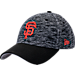 Front view of New Era San Francisco Giants MLB Terry Fresh 9FIFTY Adjustable Snapback Hat in OTC