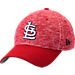 Front view of New Era St. Louis Cardinals MLB Terry Fresh 9FIFTY Adjustable Snapback Hat in OTC