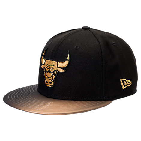 New Era Chicago Bulls NBA Shimmer Fade Snapback Hat
