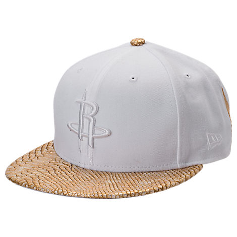 New Era Houston Rockets NBA Pebble Adjustable Back Hat