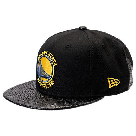 New Era Golden State Warriors NBA Pebble Adjustable Back Hat