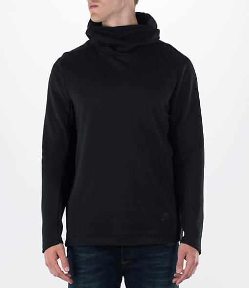 Men's Nike Tech Fleece Funnel-Neck Hoodie| Finish Line