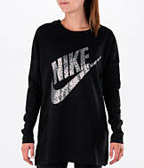 Women's Nike Metallic Long Sleeve T-Shirt
