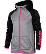 Girls' Nike Therma Training Full-Zip Hoodie