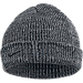 Front view of Nike LeBron Signature Beanie in Black/ Cool Grey