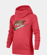 Girls' Nike Sportswear Metallic Modern Hoodie