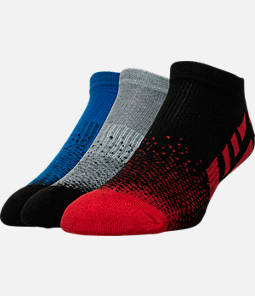 Men's Sof Sole Low Cut Striped Socks- 3-Pack   Product Image