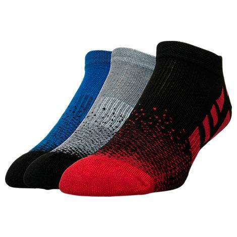 Men's Sof Sole Low Cut Striped Socks- 3-Pack