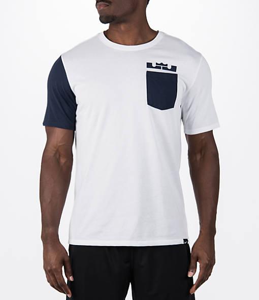 Men's Nike LeBron Sleeve Block T-Shirt