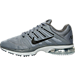 Left view of Men's Nike Air Max Excellerate 4 Running Shoes in Cool Grey/Black/Wolf Grey/Dark Grey