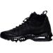 Left view of Men's Nike Air Max 95 Sneakerboot in Black/Black