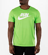 Men's Nike Run Swoosh Brand T-Shirt