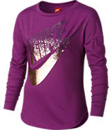Girls' Nike Long-Sleeve Metallic Shirt