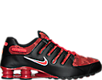 Men's Nike Shox NZ SE Jacquard Running Shoes