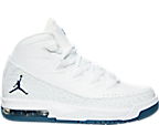 Boys' Grade School Jordan Air Deluxe Basketball Shoes