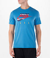 Men's Nike RUN Flag T-Shirt