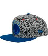 New Era Golden State Warriors NBA Kick Hooks Snapback Hat