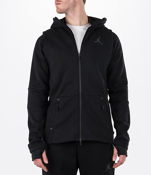 Men's Air Jordan Full-Zip Shield Hoodie