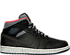 Men's Air Jordan Retro 1 Mid PRM Retro Basketball Shoes