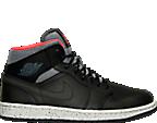 Men's Air Jordan Retro 1 Mid PRM Retro Basketball Shoes