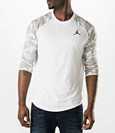 Men's Air Jordan Dunk From Above 3/4 Sleeve T-Shirt