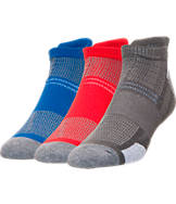 Men's Finish Line Light Cushion 3-Pack No-Show Tab Socks