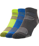Men's Finish Line Light Cushion 3-Pack No-Show Socks