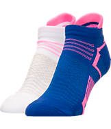 Women's Finish Line Running Select Low Cut Tab 2-Pack Socks
