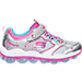 Right view of Girls' Preschool Skechers Skech-Air Stars Running Shoes in SML