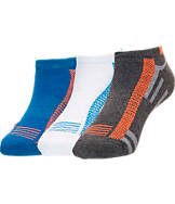 Kids' Finish Line Cushion Low-Cut 3-Pack Socks
