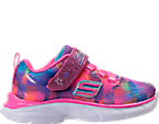 Girls' Toddler Skechers Spirit Sprintz - Rainbow Raz Casual Athletic Shoes