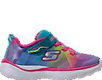 Girls' Toddler Skechers Trainer Lite - Dash N Dazzle Hook-and-Loop Running Shoes