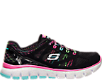 Girls' Preschool Skechers Relaxed Fit: S Flex - Fashion Play Running Shoes