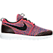 Right view of Men's Nike Roshe One NM Flyknit SE Casual Shoes in Bright Crimson/Black/White