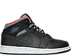 Boys' Grade School Air Jordan 1 Mid Holiday Basketball Shoes