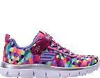 Girls' Preschool Skechers Skech Appeal Color Daze Athletic Shoes