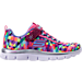 Right view of Girls' Preschool Skechers Skech Appeal Color Daze Athletic Shoes in Multi-Color