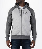 Men's Air Jordan Retro 3 Full-Zip Fleece Hoodie