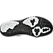 Bottom view of Men's Nike Flex Fury 2 Print Running Shoes in White/Black/Pure Platinum