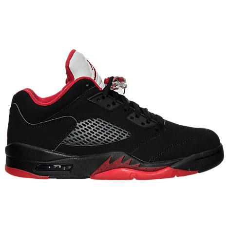 Men's Air Jordan Retro 5 Low Basketball Shoes